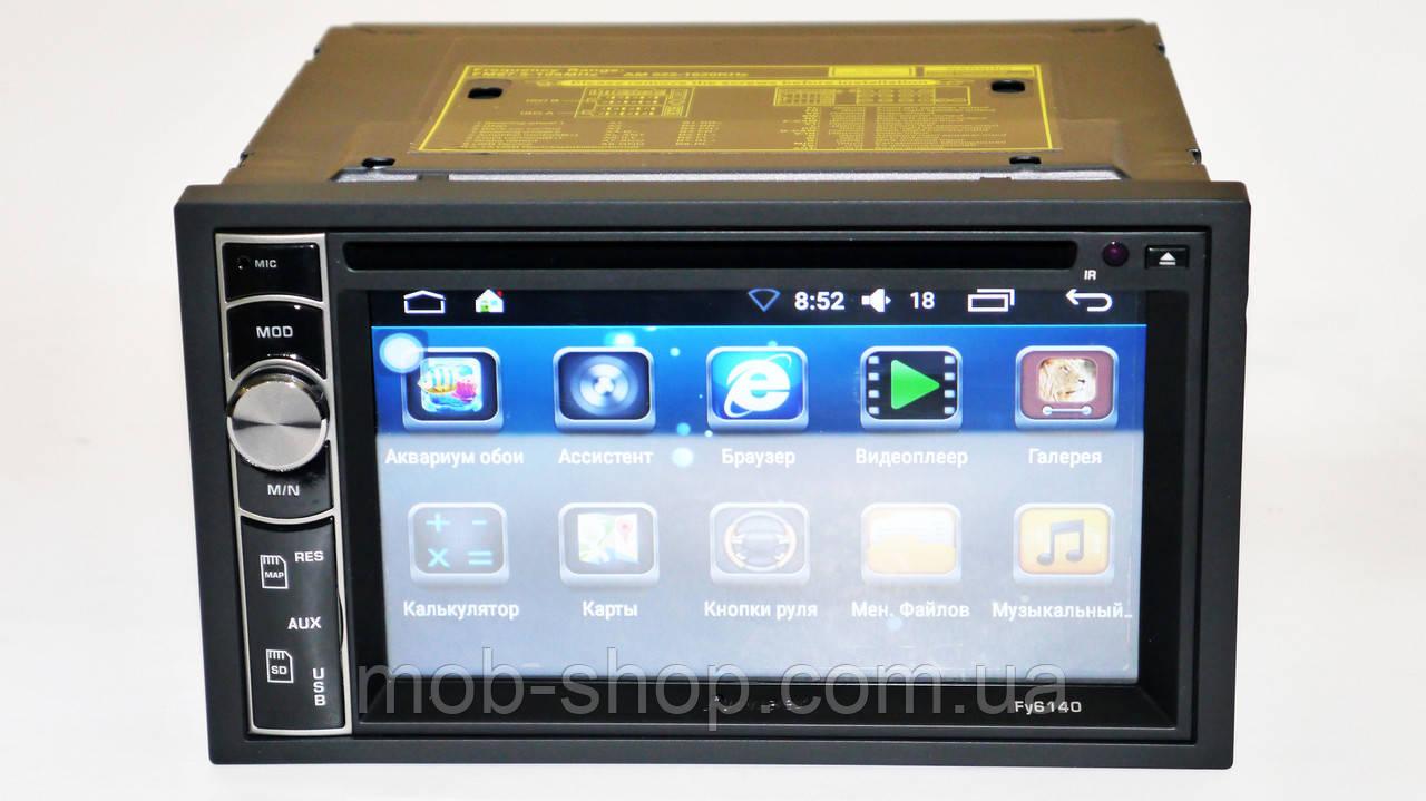 Автомагнитола пионер Pioneer FY6140 DVD+GPS+4Ядра+1Gb/16Gb+Adnroid