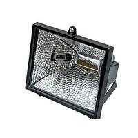 Галогенна лампа чорна 500W   FASTER TOOLS