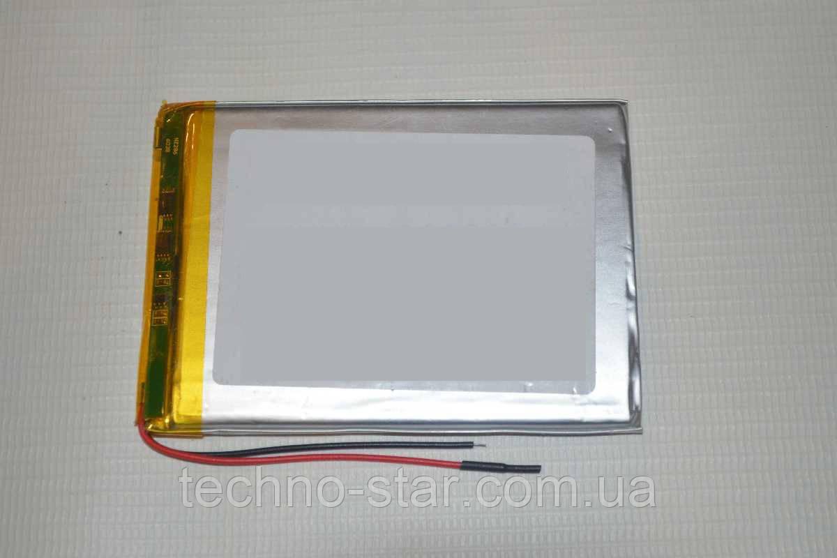Универсальный аккумулятор (АКБ, батарея) 3.7V 3000mAh (3.0*65*82mm)