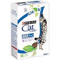 Cat Chow  Сухой корм для взрослых кошек с формулой тройного действия, с индейкой, 400 гр