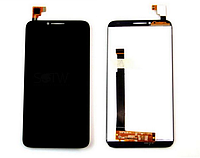 Оригинальный дисплей (модуль) +тачскрин (сенсор) Alcatel One Touch Idol 2 6037B 6037I 6037K 6037L 6037Y черный
