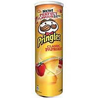 Чипсы  Pringles Classic Paprika, 175 гр