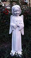 Надгробия скульптуры. Скульптура из полимера Скорбящий Ангел 47 см, фото 1