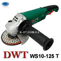 Болгарка (УШМ) DWT ws 10-125 T (1000 W)