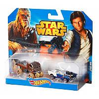Набор из 2-х машинок-героев Hot Wheels серии Star Wars (в ассортименте)