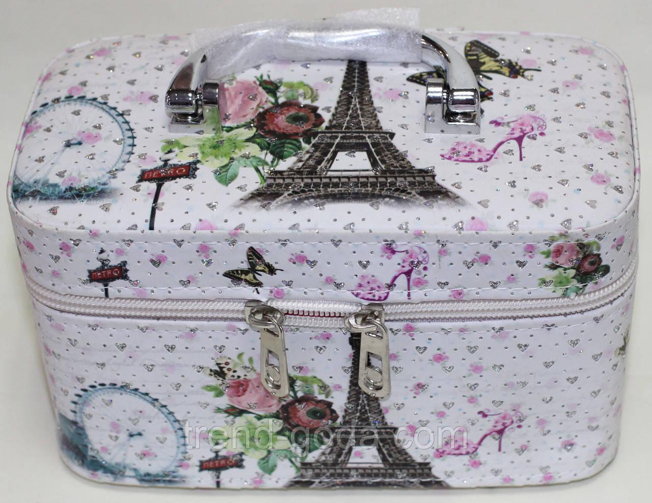 Маленькая косметичка-чемоданчик, Эйфелева башня