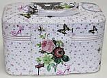 Маленькая косметичка-чемоданчик, Эйфелева башня, фото 4