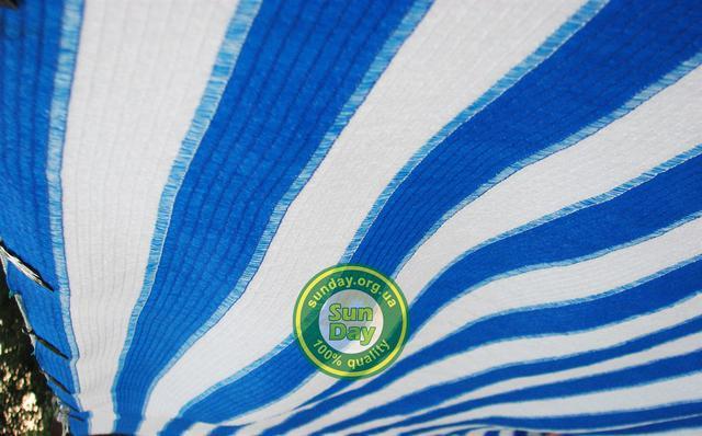 Бело-голубая сетка 160г
