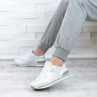 Белые кроссовки женские акция   размеры 36 37