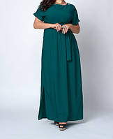 Женское платье длинное в пол больших размеров