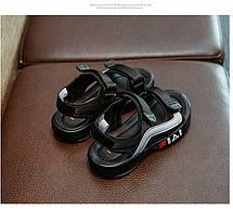 Детские босоножки FIAI черные, фото 3