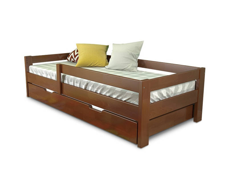 """Кровать """"Лос-сантос"""" из натурального дерева, фото 1"""