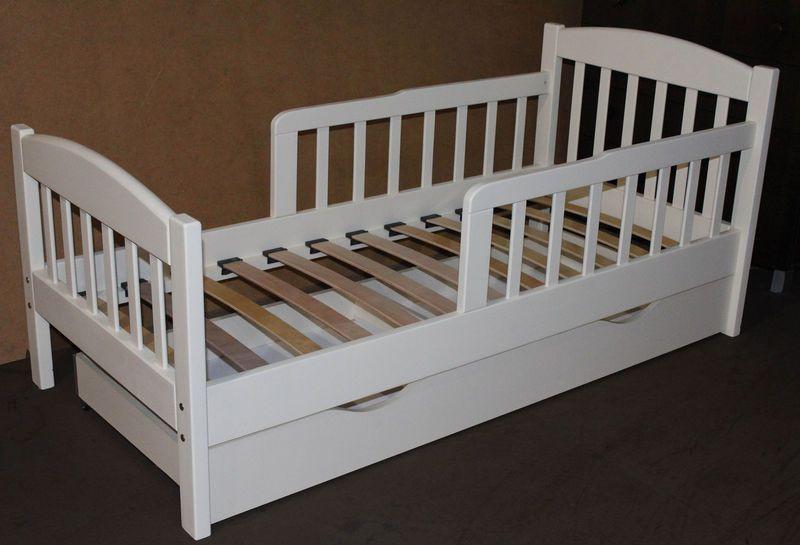 """Односпальне ліжко з дерева """"Американка"""""""