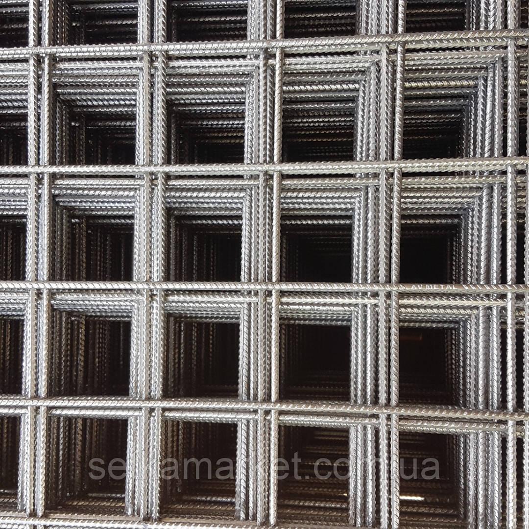 Сетка кладочная, яч 65x65 мм, проволока 2,4 мм, лист 2х0,37 м.