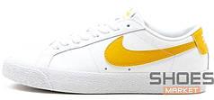 Мужские кроссовки Nike SB Blazer Low White/Obsidian