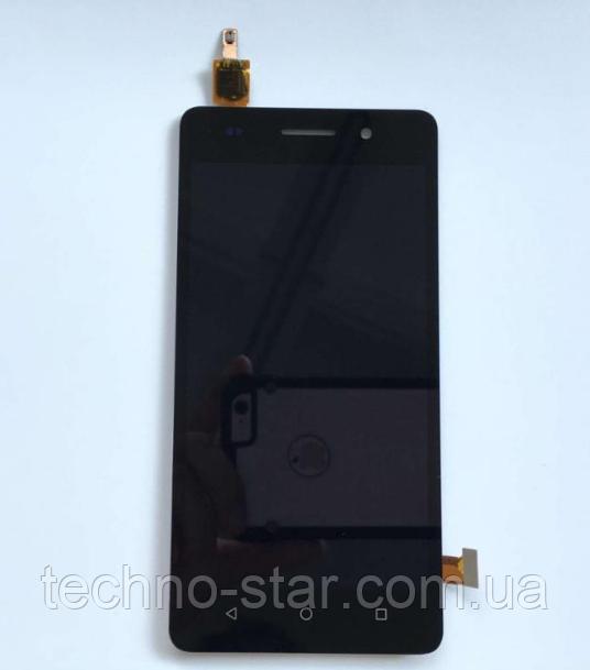 Оригинальный дисплей (модуль) + тачскрин (сенсор) для Huawei Honor 4C | G Play Mini | CHM-U01 (черный цвет)