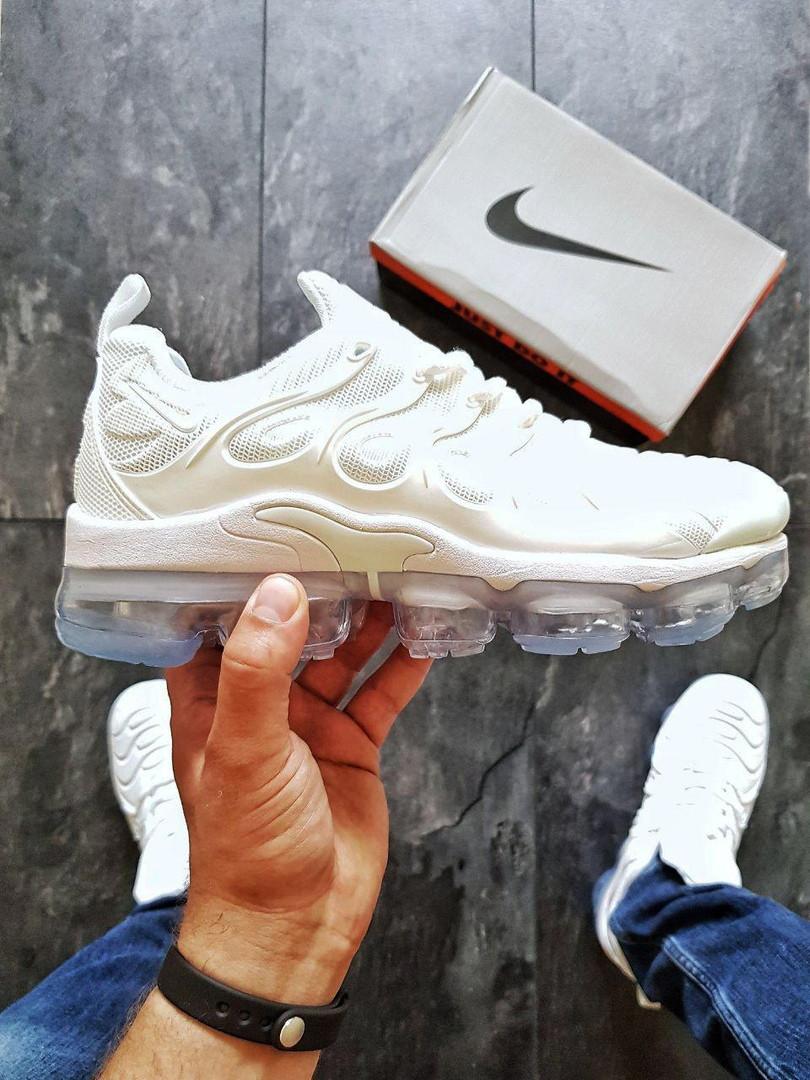 224c54da Мужские Кроссовки Nike VaporMax Plus White 44 — в Категории ...
