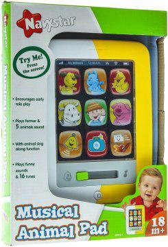Музыкальная игрушка Navystar планшет