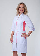 Медицинский халат коттон ХелсЛайф 40-56р, фото 1