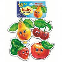 Детские пазлы Влади Тойс Ягоды и фрукты (VT1106-04)
