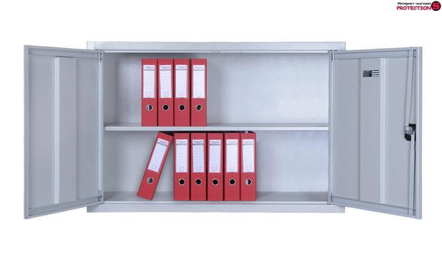 шкаф для документов металлический офисный паритет-к фото