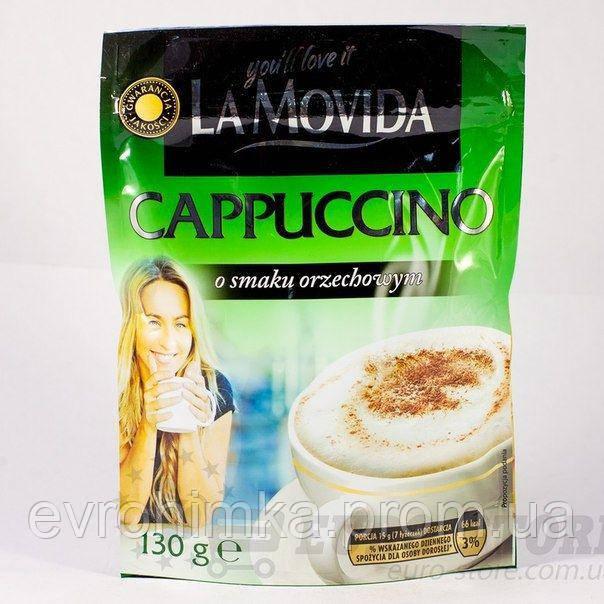 Капучино La Movida c ореховым вкусом 130 гр.