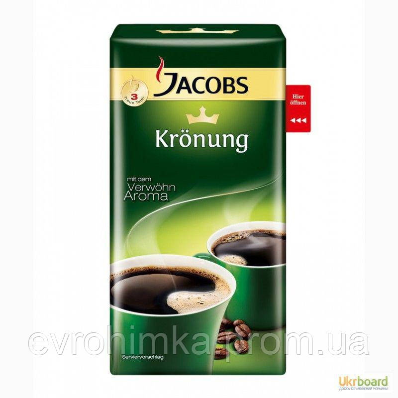 Кофе молотый Jacobs Kronung 500 грамм