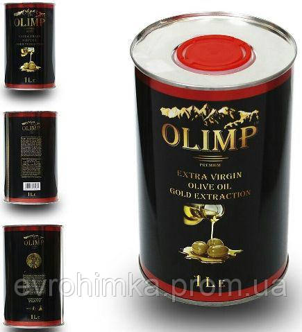 Масло Оливковое Olimp Extra Vergin Греция 1л. ж/б