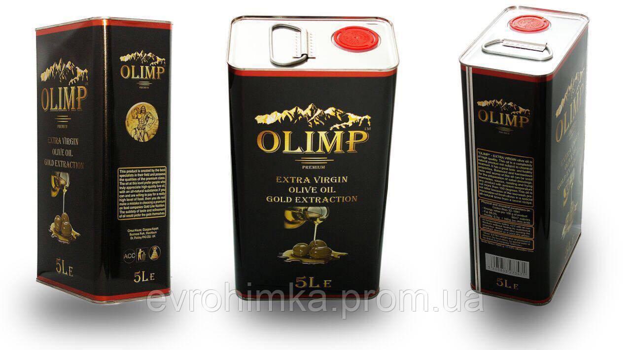 Масло Оливковое Olimp Extra Vergin Греция 5л. ж/б