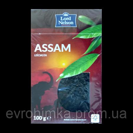 Чай черный рассыпной Lord Nelson Assam 100 грамм