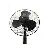 Мощный напольный вентилятор Domotec FS-1619, Охлаждающий бытовой вентилятор.