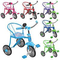 Детский велосипед трехколесный BAMBI, микс цветов