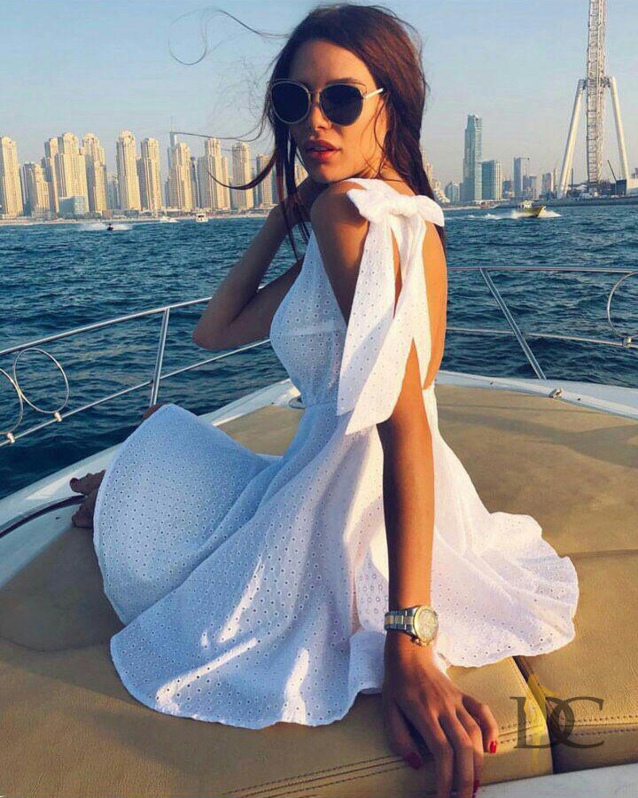 f55dcb366d5 Модное летнее платье-сарафан с открытой спиной - IBERIS в Харькове