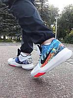 Кроссовки баскетбольные Nike Kyrie 3 EFFECT MULTI COLOR white-black from  Kyrie Irving 43 90ff7af8939