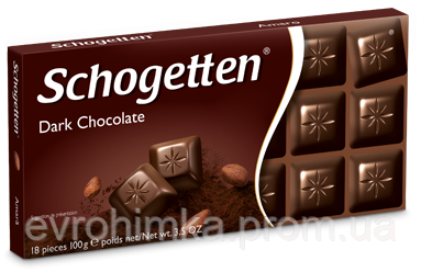 Шоколад Schogetten Dark 100 гр