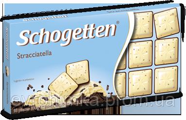 Шоколад Schogetten Страциателла с пломбиром 100 гр