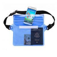 Водонепроницаемая сумка чехол для плавания денег телефона документов