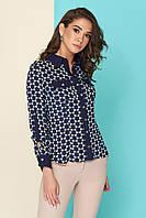 Блуза-рубашка с накладными карманами, фото 1