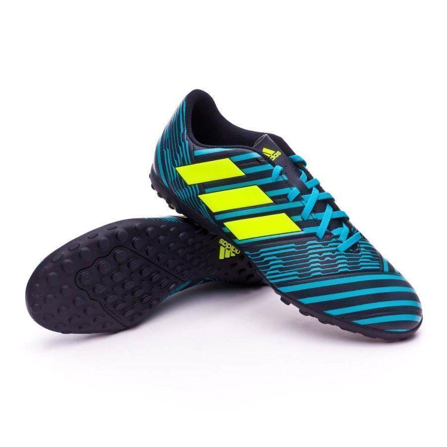 Оригинальные футбольные сороконожки Adidas NEMEZIZ 17.4 TF