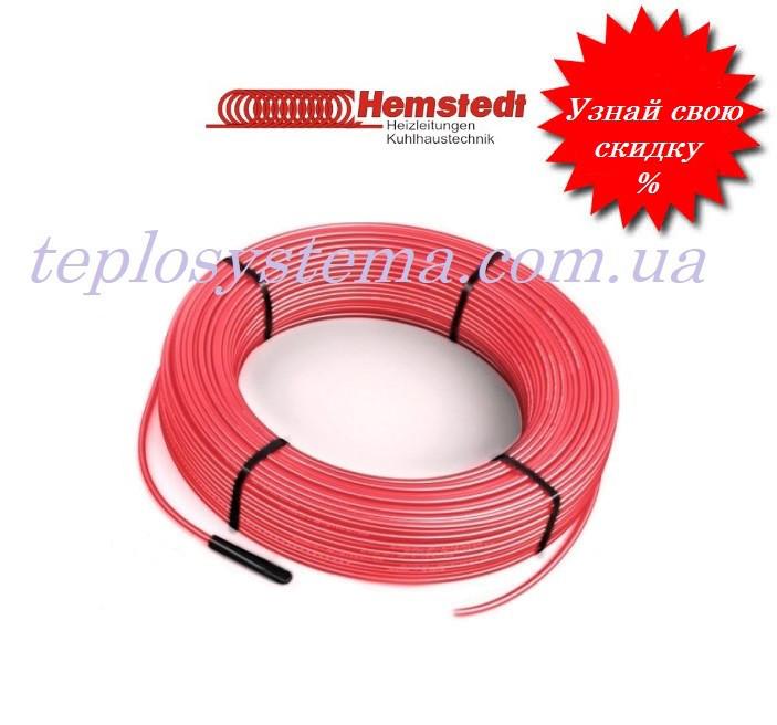 Двужильный нагревательный кабель Hemstedt BRF-IM 2430W 87,38m (27 Вт/м)  для систем снеготаяния (Германия)