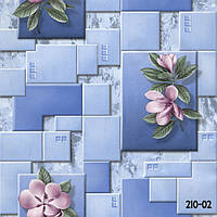 Обои влагостойкие мойка Эксклюзив 210-02 голубой, фото 1