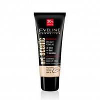 EVELINE cosmetics 30мл PROFESSIONAL Art.MAKE-UP тональный крем 3в1 - светло-бежевый