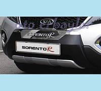 Kia Sorento 2010 Передняя накладка F009 пластик