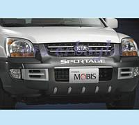 Kia Sportage 2006 передняя пластиковая накладка F001