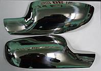 Renault Clio 3 Накладки на зеркала нерж