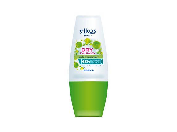 Дезодорант шариковый Elkos Dry deo Roll-on 48h, фото 2