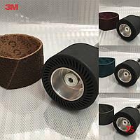 Шлифовальная лента скотч-брайт для резинового вала (барабана) - 3M Scotch-Brite, 89x394 мм