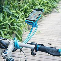 Гнучкий універсальний тримач підставка селфи стік для мобільного телефону на шию