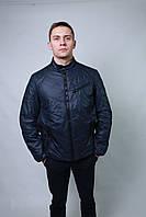 Куртка бомбер парка мужская весенняя осенняя короткая под резинку
