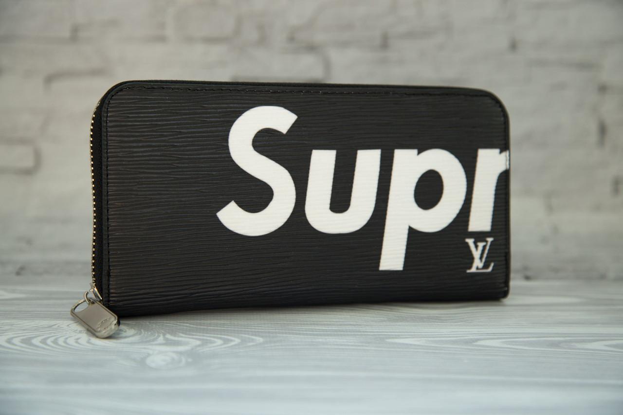 020b4f3231e8 Портмоне (кошелек, клатч) Supreme - Louis Vuitton Суприм - Луи Виттон  чёрный ...